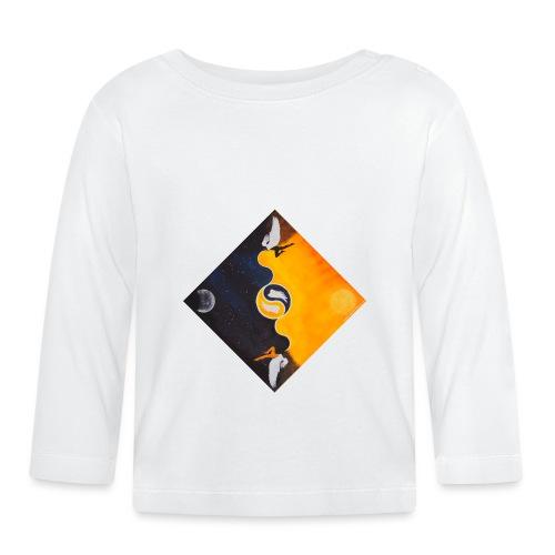 Yin Yang - Baby Langarmshirt