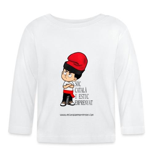 Català Emprenyat - Camiseta manga larga bebé