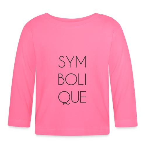 Symbolique - T-shirt manches longues Bébé