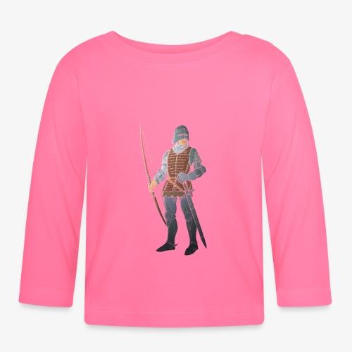 Archers Brace Yourselves patjila - Baby Long Sleeve T-Shirt