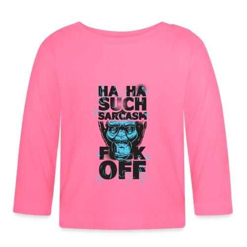 Sarcasm - Långärmad T-shirt baby