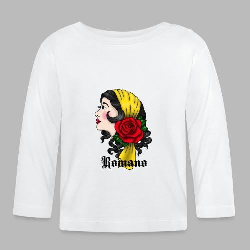 LennyLindellGipsyRomano copyrightRomanoblack - Långärmad T-shirt baby