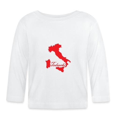 Tedeschi rouge - T-shirt manches longues Bébé