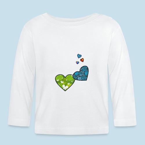 Herzchen - Baby Langarmshirt