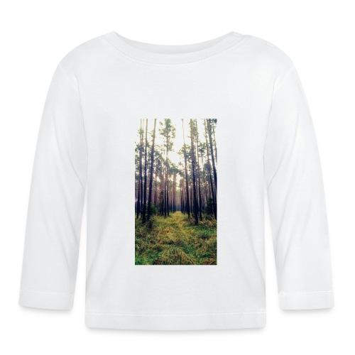 Las we mgle - Koszulka niemowlęca z długim rękawem