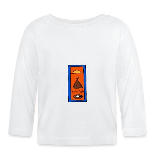 Samisk motiv - Langarmet baby-T-skjorte