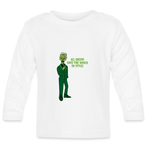 All Green - Baby Long Sleeve T-Shirt