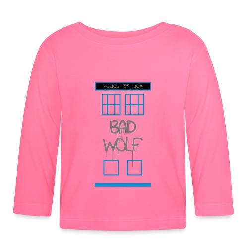 Doctor Who Bad Wolf - Maglietta a manica lunga per bambini