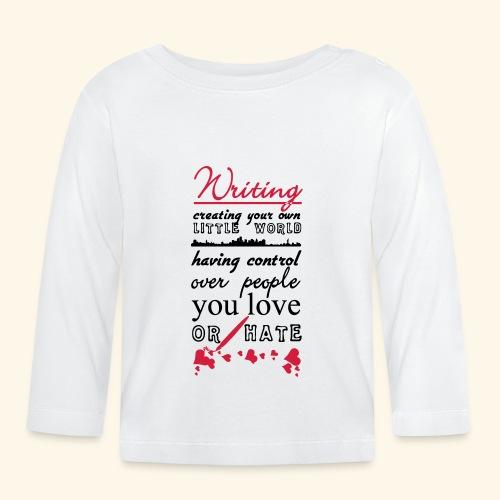 Writing - Baby Long Sleeve T-Shirt