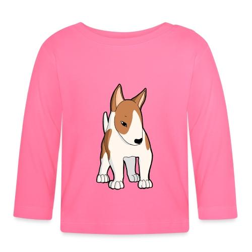 Bull Terrier bianco fulvo - Maglietta a manica lunga per bambini