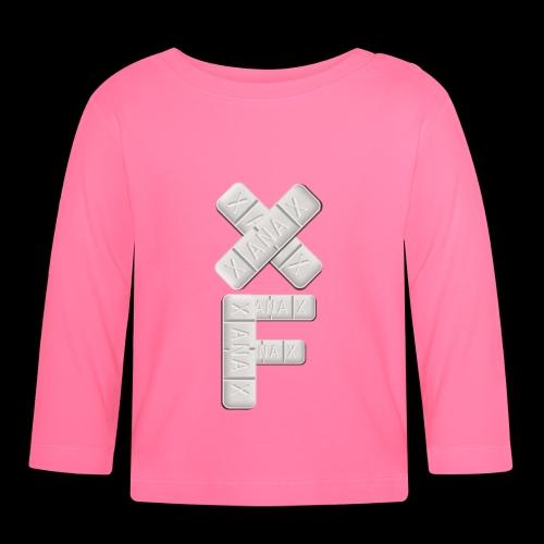 XF Xanax Logo - Baby Langarmshirt