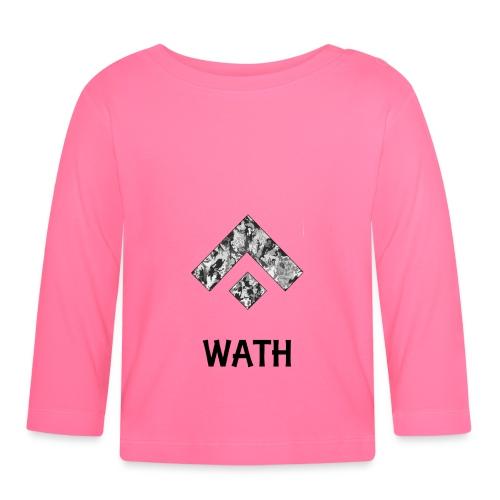 Diseño nombrado - Camiseta manga larga bebé