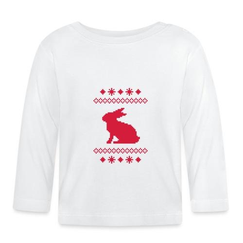 Norwegerhase hase kaninchen häschen bunny langohr - Baby Langarmshirt