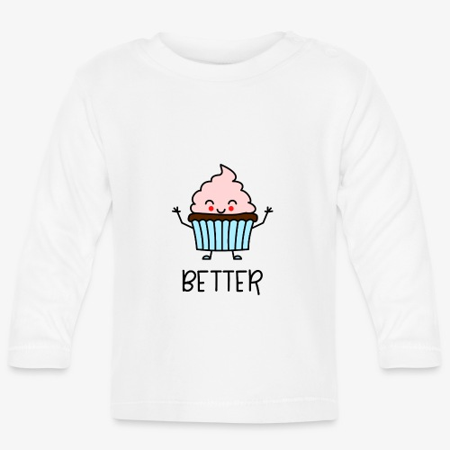 Better Together Partnerlook (Part1) Muffin - Baby Langarmshirt