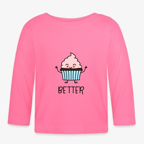 Better Together Partnerlook (Part1) Muffin - Baby Langarmshirt