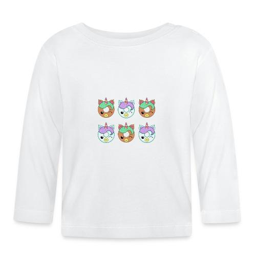Unicorn Donut - Maglietta a manica lunga per bambini