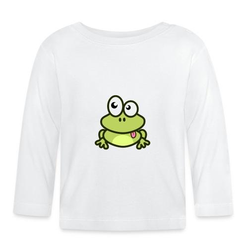 Frog Tshirt - Baby Long Sleeve T-Shirt