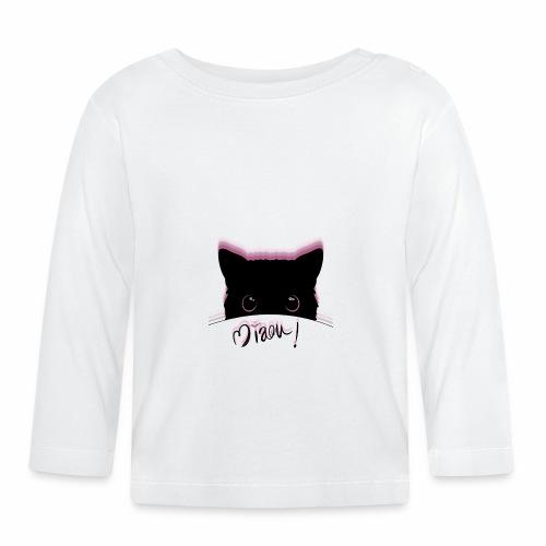 gato miaou - T-shirt manches longues Bébé