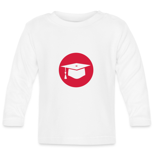Doktorhut Kreis Geschenkidee Promotion Examen - Baby Langarmshirt