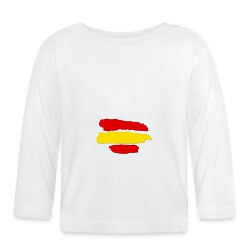 rayas de españa - Camiseta manga larga bebé