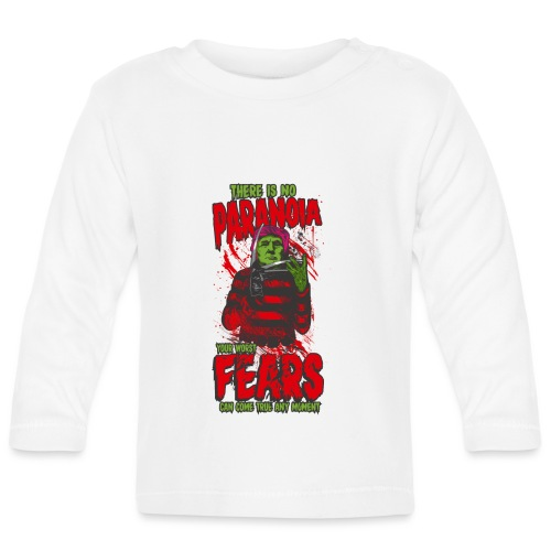 There is no paranoia - Langarmet baby-T-skjorte