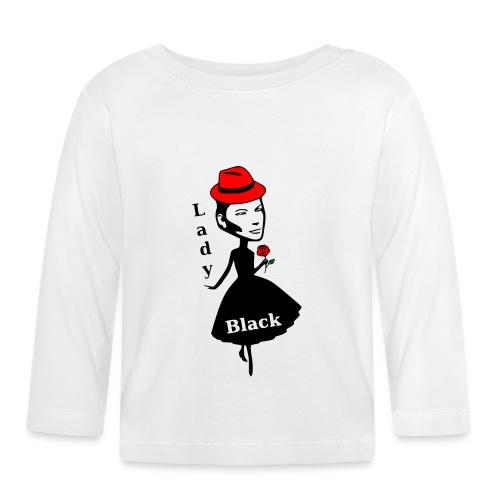 Lady Black/Rot - Baby Langarmshirt