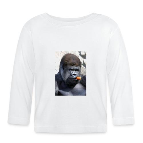singe - T-shirt manches longues Bébé
