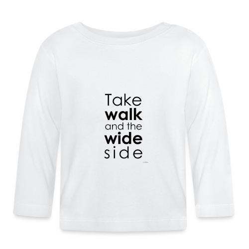 LOU-REDD-walk-black - T-shirt manches longues Bébé