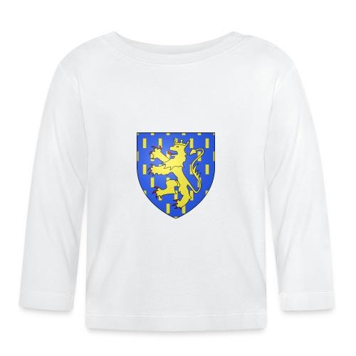 Blason de la Franche-Comté avec fond transparent - T-shirt manches longues Bébé