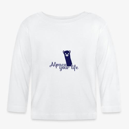 Alpaka your life - Baby Langarmshirt