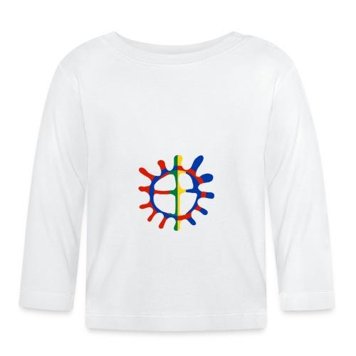 Samisk sol - Langarmet baby-T-skjorte