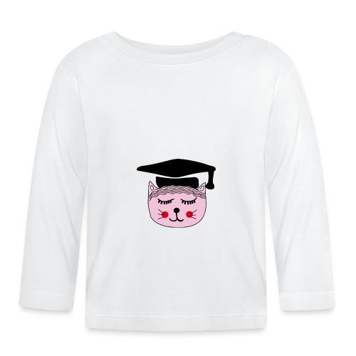 Akademikerin Katze - Baby Langarmshirt