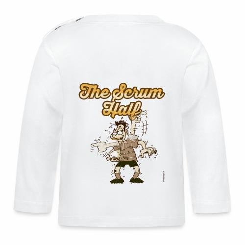 ScrumHalf_Marplo_mug.png - Maglietta a manica lunga per bambini