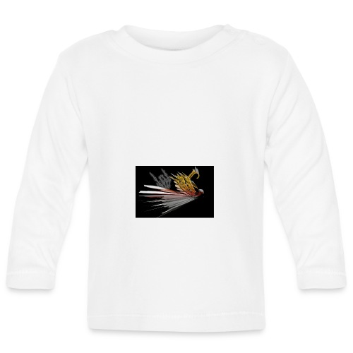 Abstarct Bird and Skeleton Hand - Baby Long Sleeve T-Shirt
