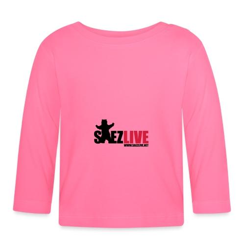 OursLive (version dark) - T-shirt manches longues Bébé