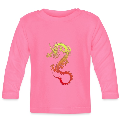 Golden Dragon - Baby Long Sleeve T-Shirt