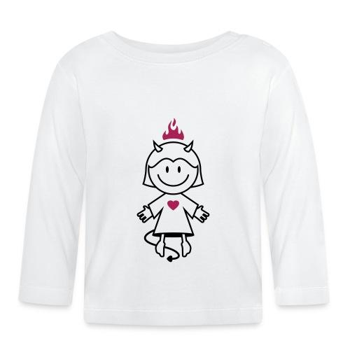 vl038b_teufelchen_2c - Baby Langarmshirt