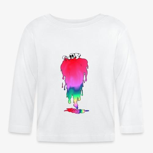 Peinture snap - T-shirt manches longues Bébé