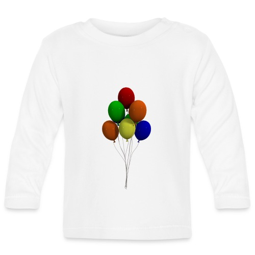 Party Ballons - Baby Langarmshirt