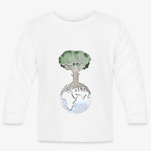 Tree and Earth - T-shirt manches longues Bébé