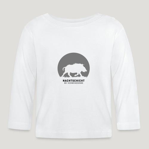 Nachtschicht bei Schweinesonne! Jäger Shirt Jaeger - Baby Langarmshirt