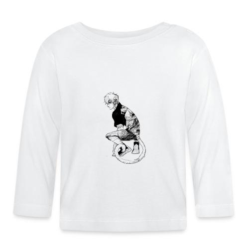 Chico mono - Camiseta manga larga bebé