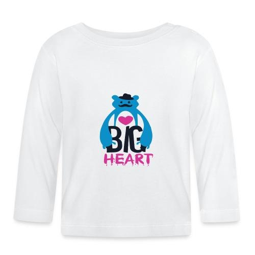 Big Heart Monster Hugs - Baby Long Sleeve T-Shirt