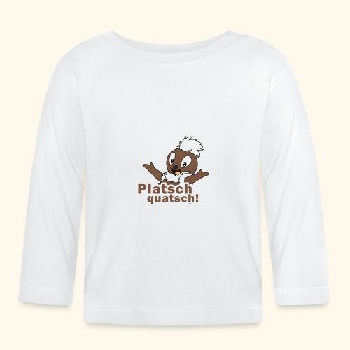 Pittiplatsch 2D Platschquatsch - Baby Langarmshirt