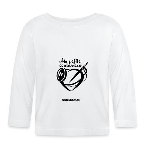 Ma petite couturière (version dark) - T-shirt manches longues Bébé