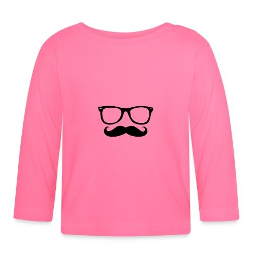 Moustache - T-shirt manches longues Bébé