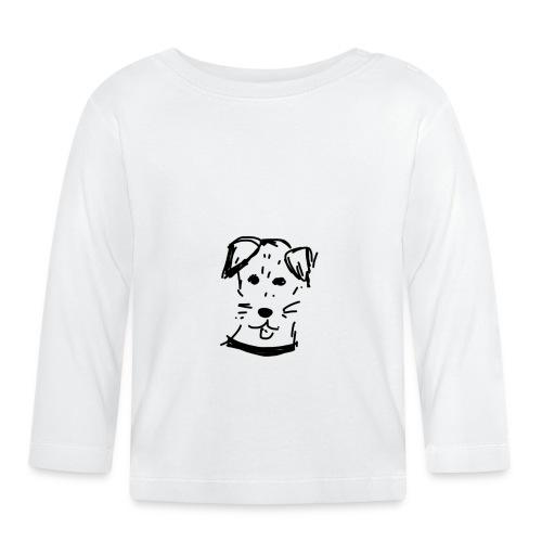 piesek a jpg - Koszulka niemowlęca z długim rękawem