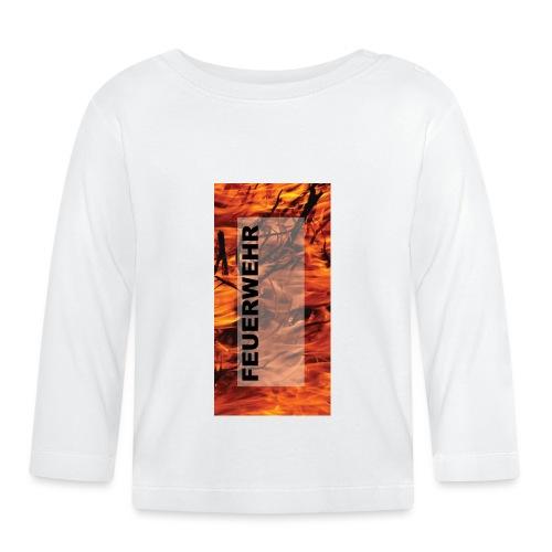 Feuerwehr Handycover - Baby Langarmshirt