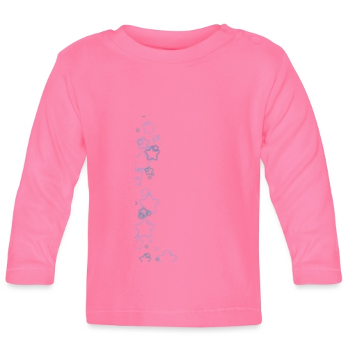 Blue Stars - Baby Long Sleeve T-Shirt