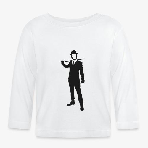 PREMIUM SO GEEEK HERO - MINIMALIST DESIGN - T-shirt manches longues Bébé